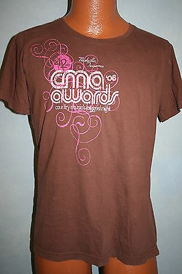CMA AWARDS 2008 Show T-SHIRT Womens Large Soft COUNTRY MUSIC