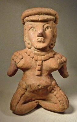 Early Pre-Columbian Guerrero Female Figure Ex Sotheby '78