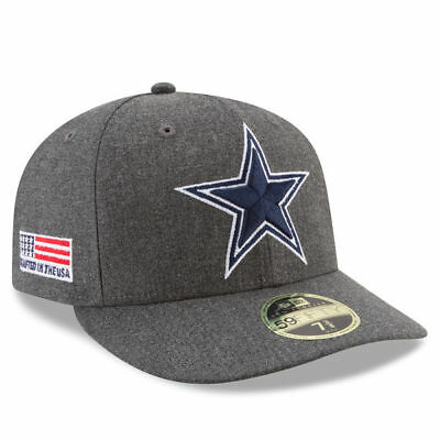 online retailer c4080 3704c Dallas Cowboys 2018 Nfl New Era 59Fifty Heather Gray Low Profile Fitted Hat  Cap