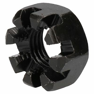 "3/4"" BSF Slotted Castle Nut for Trailer Wheel Hubs Castellated Hub Bearing Nut"