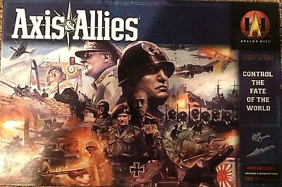Boardgame - Axis & Allies - Revised Avalon Hill