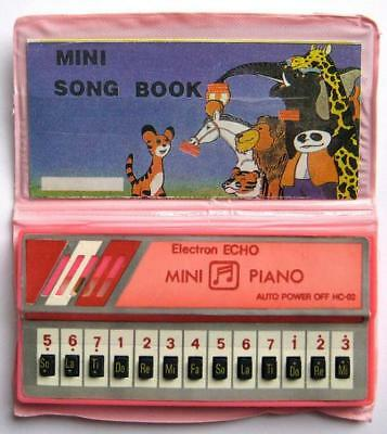 Electron Echo Mini Piano Mini Song Book Vintage Pk