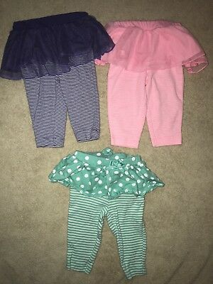 62ec564e7 BABY GIRLS CLOTHES Lot Tutu Pants Carters O-3 Months EUC - $5.00 ...