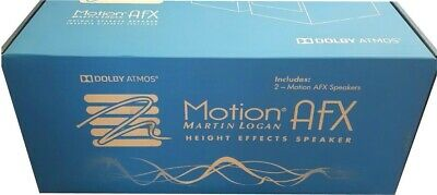 Brand New Pair Of Martin Logan Motion AFX Dolby Atmos Surround Speakers
