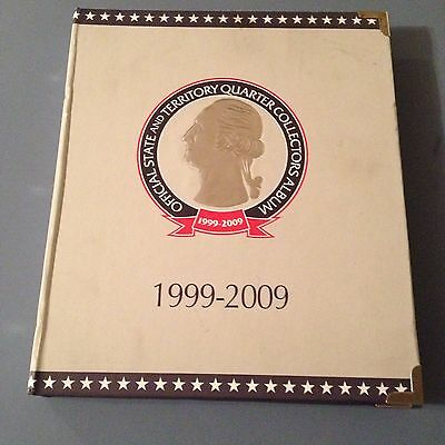 1999-2009 Complete Official CSN State and Territory Quarter Collectors Album