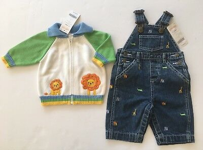 NWT Gymboree Tea for Two Striped Sweater Jumper /& Bodysuit 2pc Set 12-18 18-24