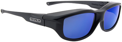 New JONATHAN PAUL Polarized Sunglasses Fit-overs Torana Charcoal TR002BM Large