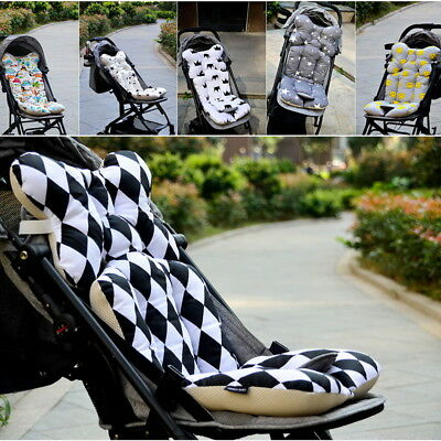 Universal Newborn Baby Car Seat Stroller Cushion Pad Liner Mat Cotton Pillow hot