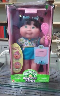 Cabbage Patch Kids Doll Babys First Haircut Walmart Exclusive