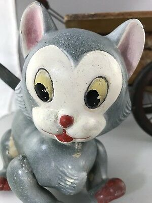 """7"""" Figaro The Cat Doll - Composition.  Rare Pinochios Cat!"""