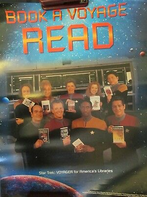 1997 Star Trek American Library Association Reading Poster