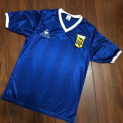 Maradona Argentina Mexico 1986 Vs England Retro Soccer Jersey Hand Of God