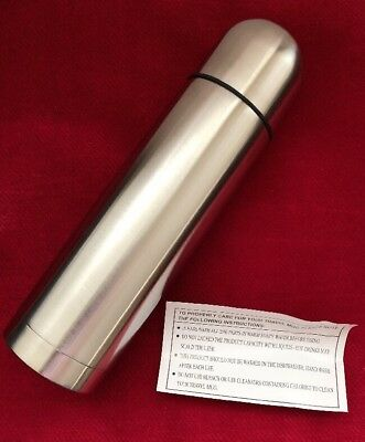 NEW, Thermos Vacuum Insulated 16oz Compact Stainless Steel Beverage Bottle (#K-3