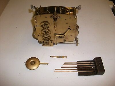 Perivale British Made  1940's Westminster Chime Movement,chime Bar & Hands