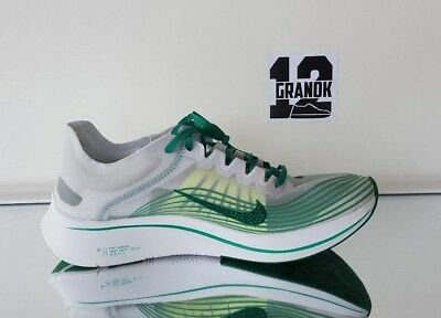 1482420ac8f87 NEW MENS SZ 10.5 Nike Zoom Fly Sp (Aj9282 101) White lucid-Green ...
