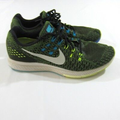 best loved 93b39 b6054 Nike Air Zoom Structure 19  806580-010  Running Black Platinum-Volt