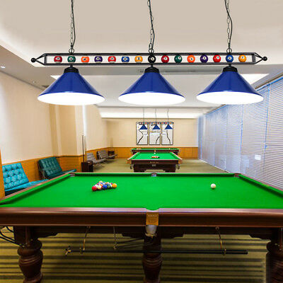 59 Pool Table Light Fixture Billiards Hanging With
