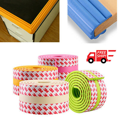 New Soft Waterproof Wall Corner Protector With 3M Tape Safety Kids Baby Indoor