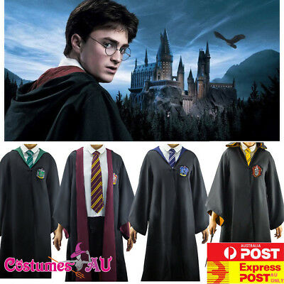Kids Harry Potter Robe Costume Child Book Week Girls School Boys Teen Outfits