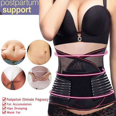 Postpartum Recovery Belly Body Shaper Waist Tummy Belt Slimming Support Band US