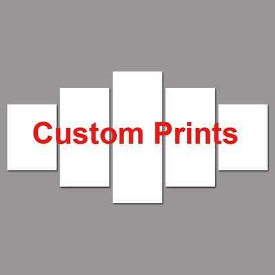 Customized Canvas Art Prints Custom Made Your Own Picture Framed or Unframed ...