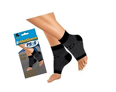 OrthoSleeve FS6 Compression Foot Sleeve (One Pair) for Plantar Fasci... - NO TAX