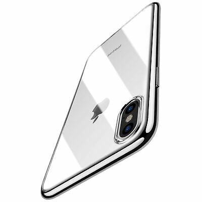 TOZO for iPhone X Case, Crystal Clear Soft TPU Gel Skin Ultra-Thin [Slim Fit]...