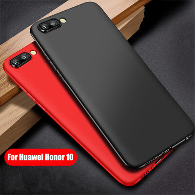 For Huawei Honor 10 Ultra Thin Slim Soft TPU Rubber Case Protective Bumper Cover