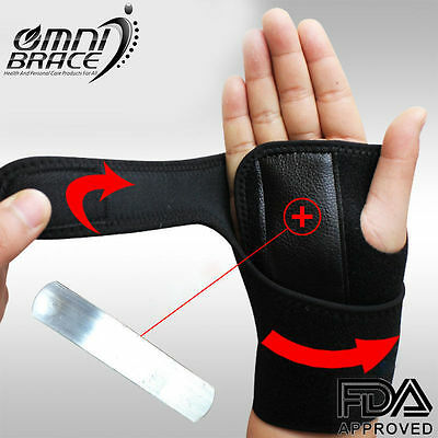 FDA Approved Neoprene Wrist Support Hand Brace  Carpal Tunnel Splint-Arthritis