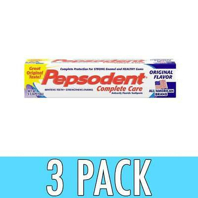 Pepsodent Complete Care Toothpaste, 5.5 oz, 3 Pack
