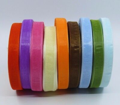 12mm ORGANZA  Ribbon Wedding Cakes Gift Wrapping
