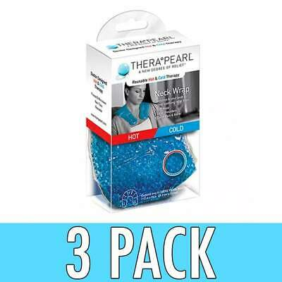 TheraPearl Reusable Hot & Cold Neck Wrap, 1 ea, 3 Pack
