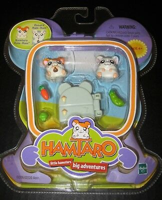 NEW Hasbro HAMTARO Little Hamsters Big Adventures Oxnard Ham-Ham Figures NIP