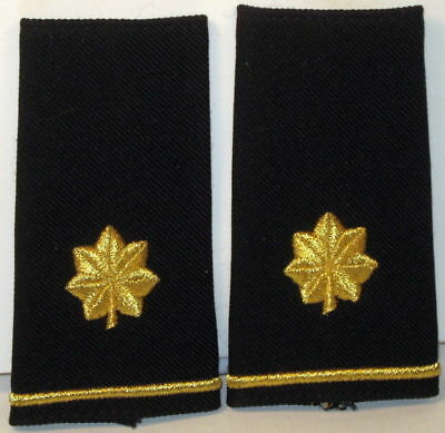 US Army Major Epaulet Soft Shoulder Board Large Size Pair for Dress Blues