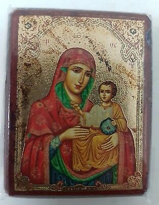 Icon Mother of God Blessed Jerusalem Russian Church Holy Land Orthodox Bethlehem