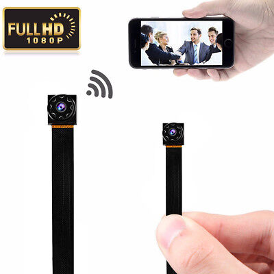 1080P Wireless Micro Mini Spy Camera Wifi Hidden Nanny Module DIY Recorder Cam