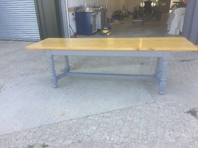 large refectory table shabby chic