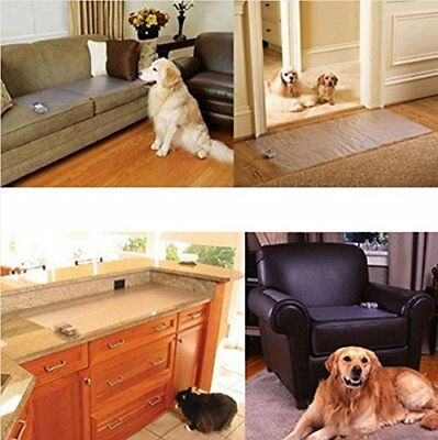 Electronic Pet Training Dog Cat Barrier Repellent Safe Scat Mat Automatic Indoor