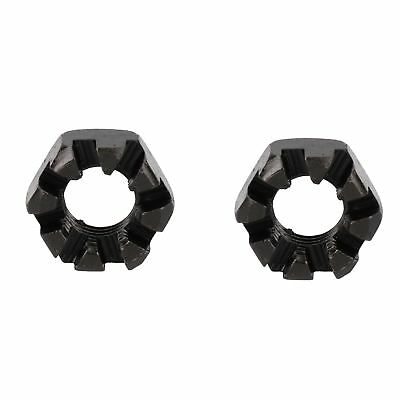 "3/4"" BSF Slotted Castle Nut Trailer Wheel Hubs Castellated Hub Bearing 2 Pack"