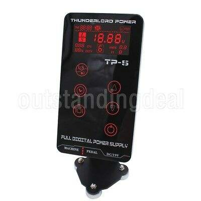 HP-2 Tattoo Power Supply Digital Dual Touch LCD Display Tattoo Power Supply