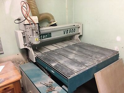 Victor VR900 700 x 900 bed 3 axis CNC with extractor