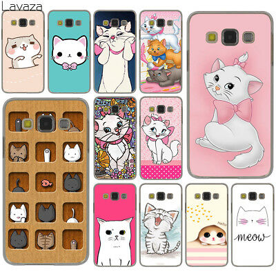 For Galaxy Samsung S7 S6 Edge S8 S9 Plus Phone Case Cover Cats Cartoon Hard