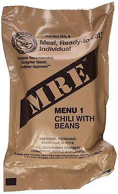 Mre Food Ration Pack Camping Survival Ready To Eat Meal