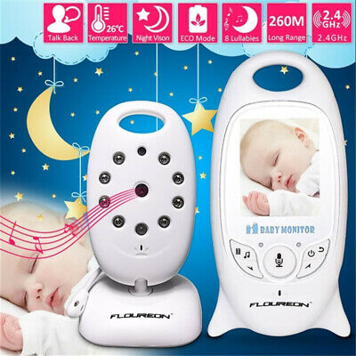 Wireless Video Baby Monitor with Wifi Security Camera 2 Way Talk IR Night Vision
