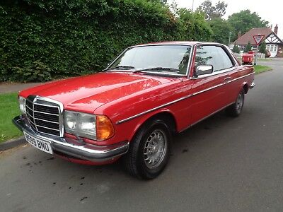 Mercedes 280 Ce Pillarless Coupe - Rot Free !! - Drives Lovely Great Classic Car