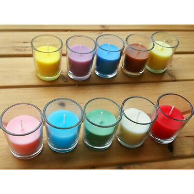 Premium Colored Paraffin Wax Blocks Scented Candle Making Supplies Bright Colour