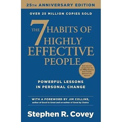 The 7 Habits of Highly Effective People by Covey, Stephen R.   Paperback Book  