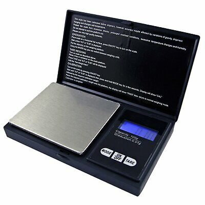 Pocket Digital Scales Jewellery Gold Weighing Mini LCD Electronic 0.1g-200 Grams