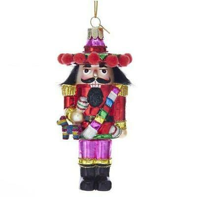 "Kurt Adler 5""Noble Gems Mexican Nutcracker Orn"
