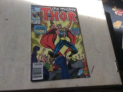 The Mighty Thor #384 Marvel comics October 1987 Fine